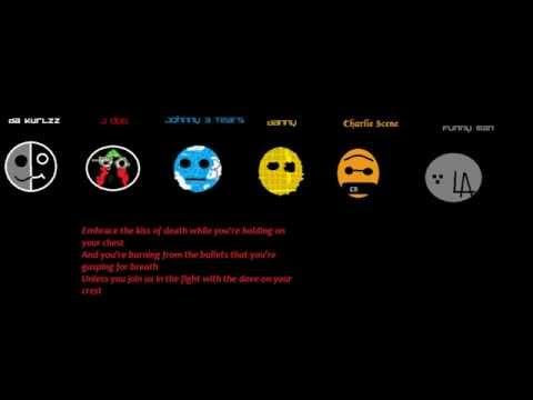 Hollywood Undead - Fuck the world (Lyrics video)