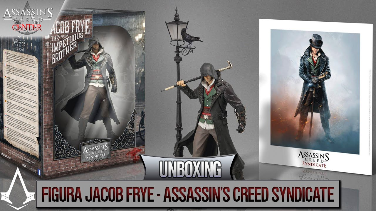 Assassin's Creed Syndicate   2015   Unboxing JACOB FRYE ...