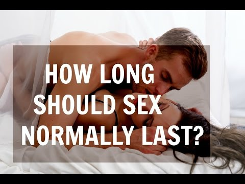 How long does good sex last