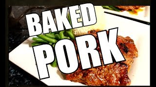 How To Make Baked Pork In The Oven: Easy Pork Recipe | Chef Ricardo Cooking