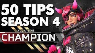 50 Apex Legends Season 4 Pro Tips in 6 Minutes
