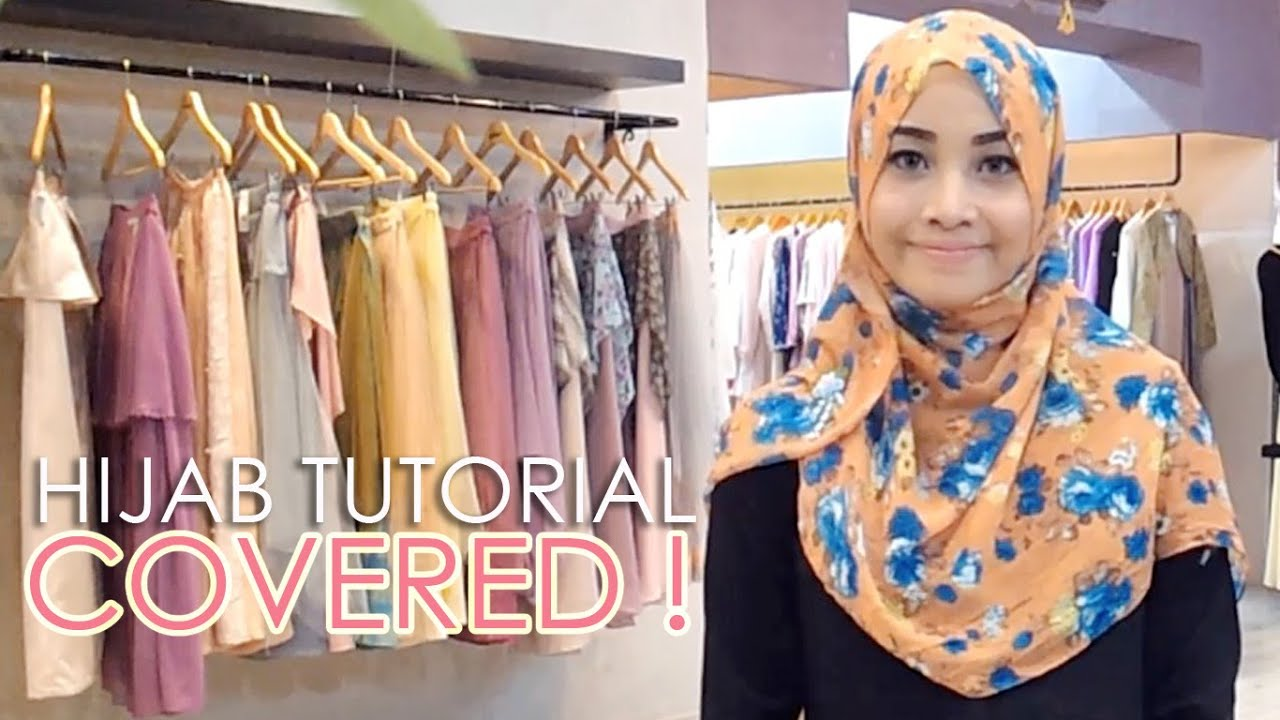 HIJAB TUTORIAL COVERED STYLE JILBAB MENUTUP DADA IRNA DEWI