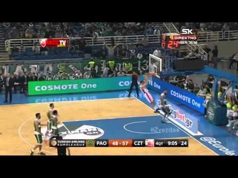Panathinaikos - Crvena zvezda Telekom | Play of the game: Micić & Gudurić | Euroleague, TOP 16
