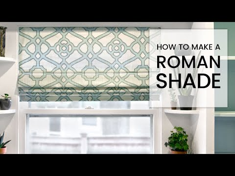 pin blinds diy with outside mount no faux dowels sew roman shade