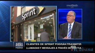 Oscar Haza - Sprint Corporation firma acuerdo con Cuba