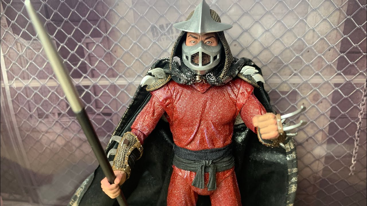 Teenage Mutant Ninja Turtles 1990 Movie Neca Toys Shredder 7
