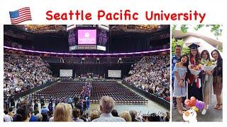 Happy Graduation (Wisuda Anak/ Belanja Di QFC Dan Makan Di Chipotle/ Seattle