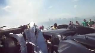 Acidente trágico na Rodovia com vários Carros e vítimas