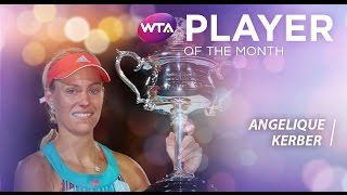2016 WTA January Player of the Month | Angelique Kerber