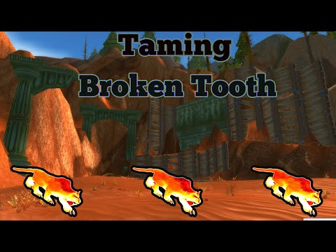 How To Tame: Broken Tooth Classic World Of Warcraft Guides
