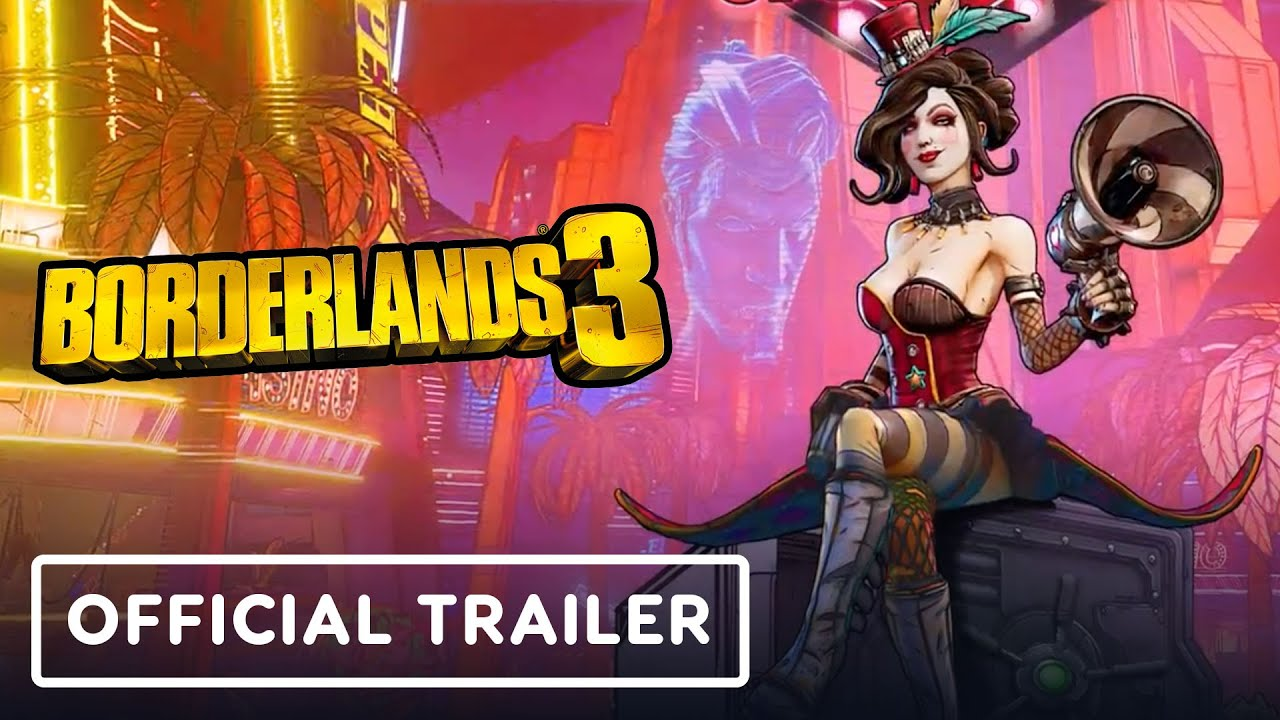 Trailer do DLC de Borderlands 3 do Moxxi oficial do trailer do DLC Jackpot Bonito + vídeo