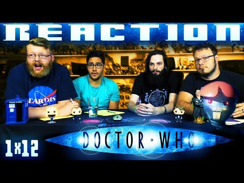 """Doctor Who 1x12 REACTION!! """"Bad Wolf"""""""
