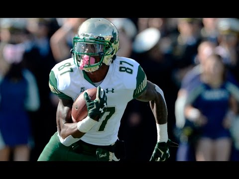 WR Rodney Adams vs Navy 2016