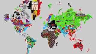 April 23, 2019 - Pixels World War - 24 hours time lapse
