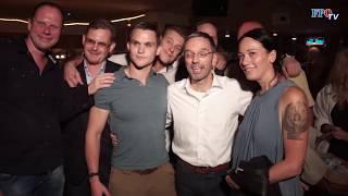Blaulicht-Party: Polizei wünscht sich Herbert Kickl zurück!