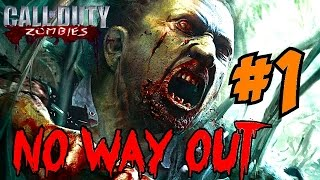 NO WAY OUT: FOUR Amazing Wonder Weapons?▐ CoD World at War Custom Zombies Map/Mod