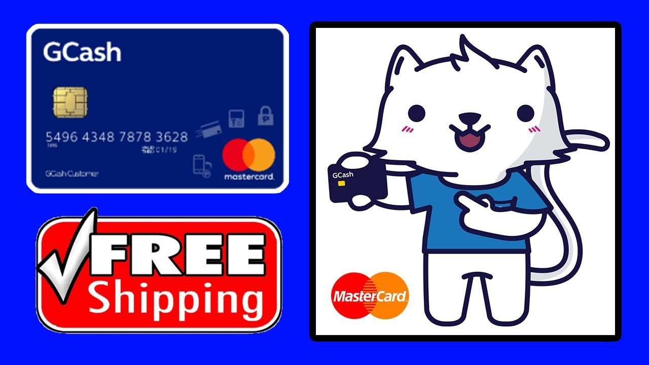How To Order Gcash Mastercard (Free Shipping)