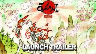 Okami HD Launch Trailer