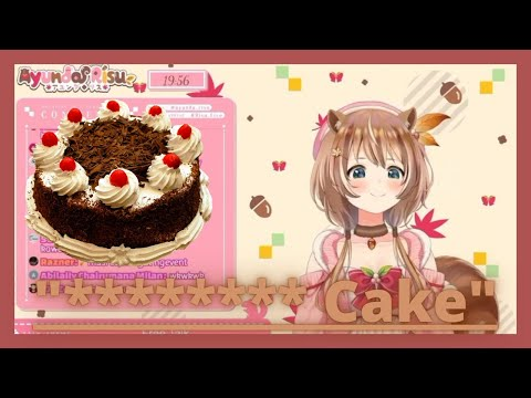 【Hololive ID】Just Risu Eating Some Cake, Nothing Unseiso Here【English Sub】
