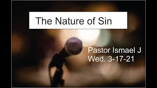 """THE NATURE OF SIN"""