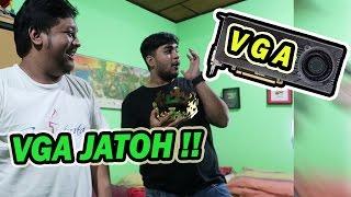 VGANYA JATOH!! - Vlogging Day di Tara Arts & Gema Show Mini Studio!