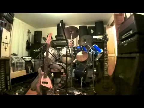 curse the gods-drum cover from-destruction-off there 1986 3d release called-eternal devastation-