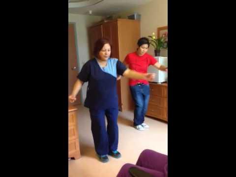 Arico dance practice