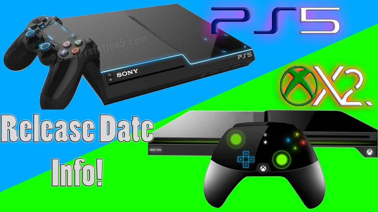 Playstation 5 and Xbox 2 Release Date Information - YouTube
