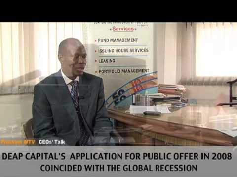 The Place of Deap Capital Plc in the NIgerian Financial Market - Emmanuel Ugboh  - 111111