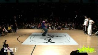 Quart de final Popping : Optimus Flo & Smoothie H vs Tony PS & Mehdi