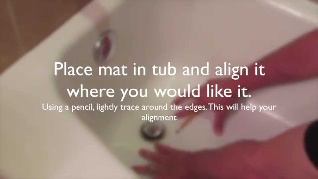 Safety Bath Mat - YouTube