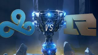 C9 vs RNG | Worlds Group Stage Day 5 | Cloud9 vs Royal Never Give Up (2018)
