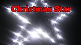 how to make Christmas star using led