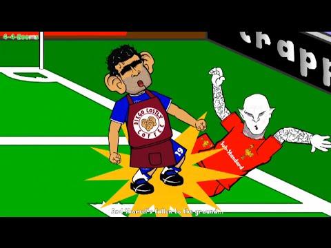 ... Chelsea vs Spurs Final 2-0 by 442oons Football Cartoon) | FunnyCat.TV Funny Football Trolls 2017