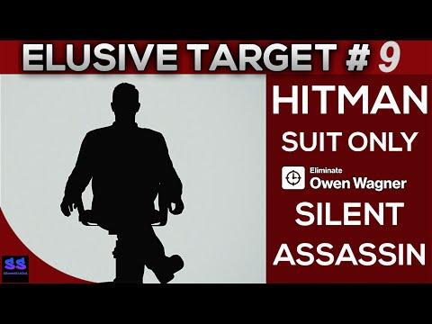 Hitman 2016 The Black Hat - Elusive Target #9 - Silent Assassin / Suit Only (Axe Kill ,5 Stars)