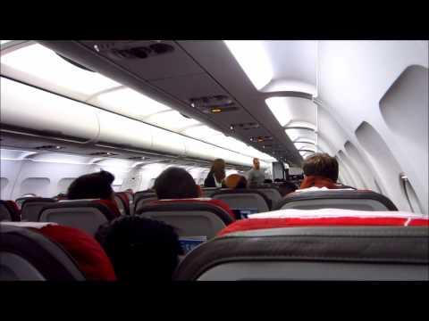 Anuncio en Guaraní  - LATAM Paraguay - vuelo Ezeiza a Asunción