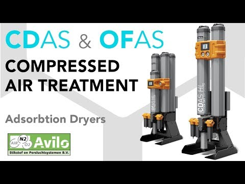 Compressed Air Drying & Filtration - Parker CDAS - OFAS - OIL-X