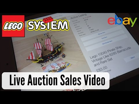 Reselling On eBay To Collect - Lego Live Auction Ending! Part 1 - How much will it all sell for??