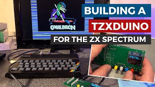 Building and testing a TZXḋuino cassette player adapter for use with Sinclair, Amstrad, BBC etc.