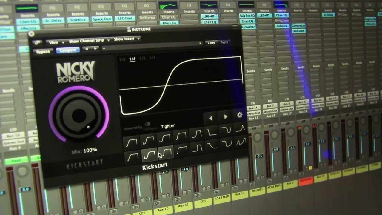 Nicky Romero Kickstart VST Free Download