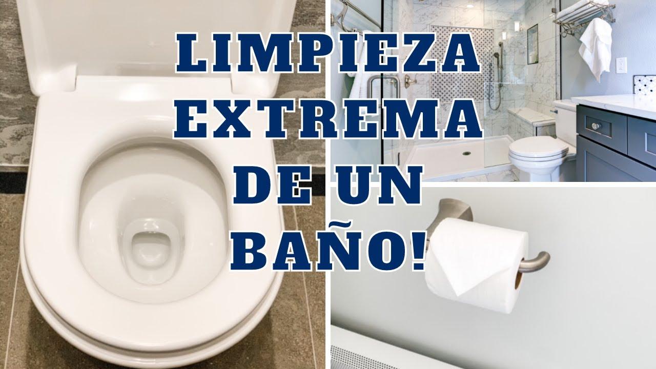 COMO LIMPIAR UN BAÑO COMO PROFESIONAL! Limpia conmigo un baño pequeñísimo | Tips Experta en Limpieza