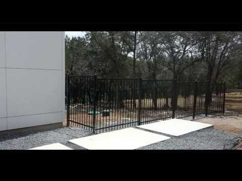 The Solid Yet Beautiful Wrought Iron Gates And Fences