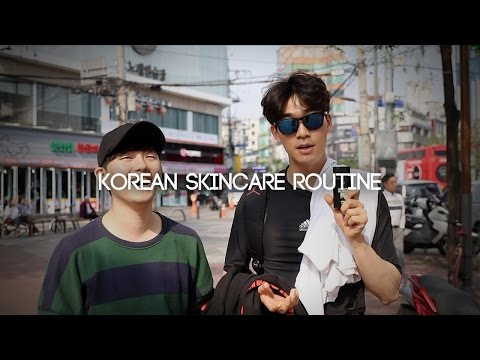 JAYKEEOUT : Korean Guys' Daily Skin Care Routine (ft. DTRT BLOCK OUT)