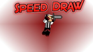 Minecraft Speed Draw of 80HighDef
