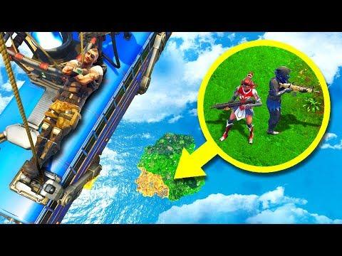 Impossible BATTLE BUS Hiding Spot! - Fortnite Hide & Seek
