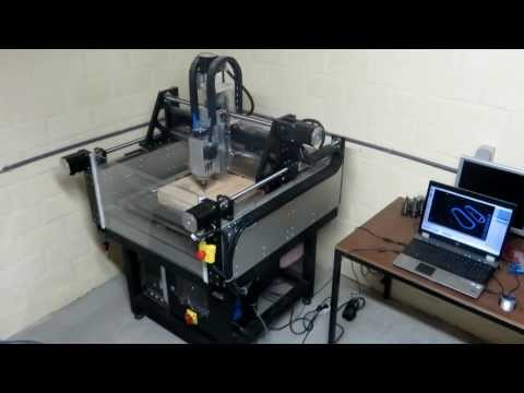 CNC milling a mould for prepreg carbonfiber lamination