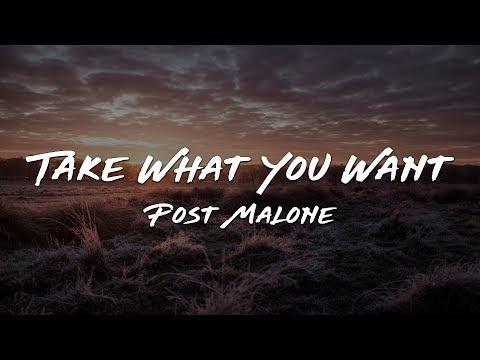 Post Malone - Take What You Want feat. Travis Scott & Ozzy Osbourne (Lyrics)