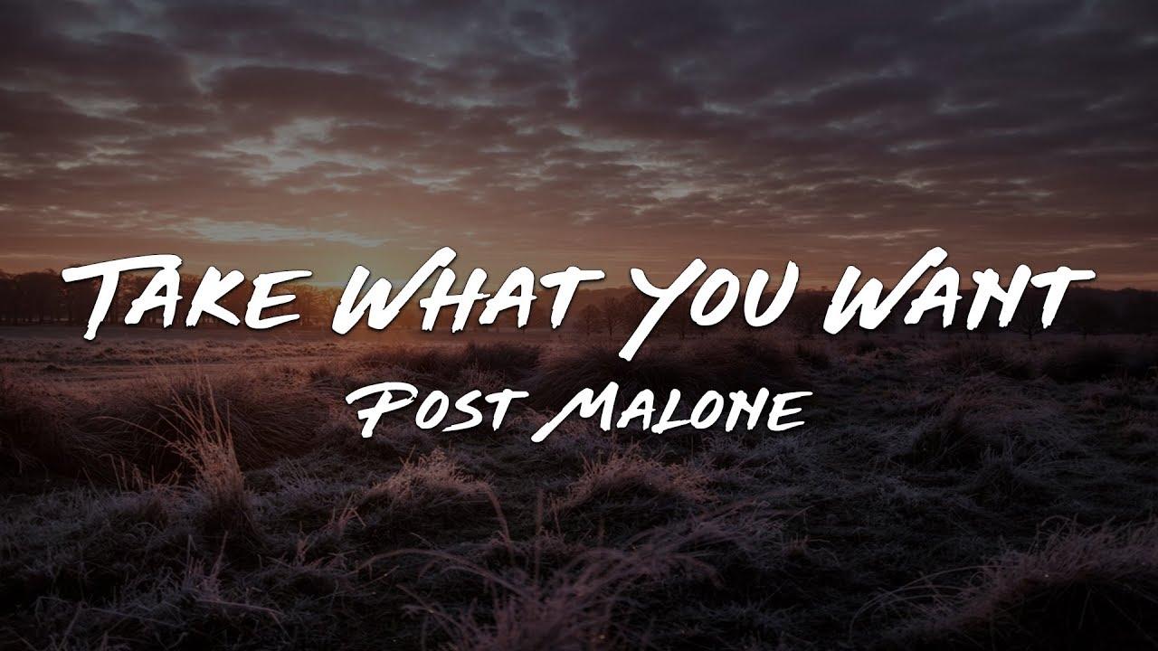 Download Post Malone - Take What You Want feat. Travis Scott & Ozzy Osbourne (Lyrics)