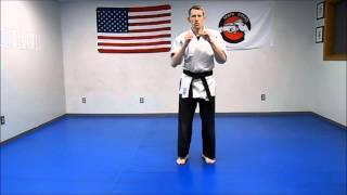 Kingdom Karate yellow belt lesson 1
