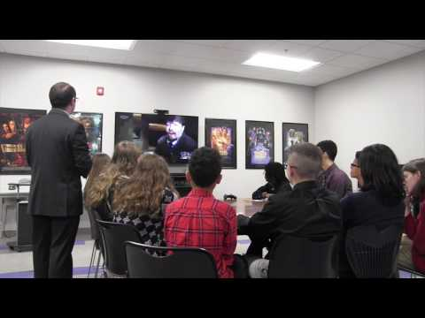 U.S. Capitol Skypes with Richland Academy of Academic Arts